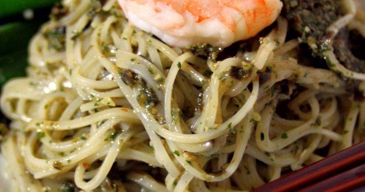 湿気った海苔もおいしい調味料に変身させよう。 パスタと和えても美味しいの。 バジルペーストより食べやすいから子供に好評。