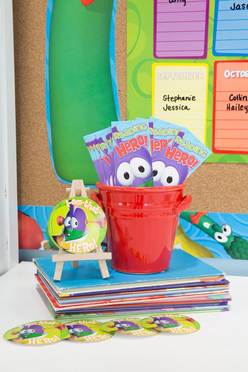 Mardel Classroom Decor ~ Need a little veggies tales inspiration this school year