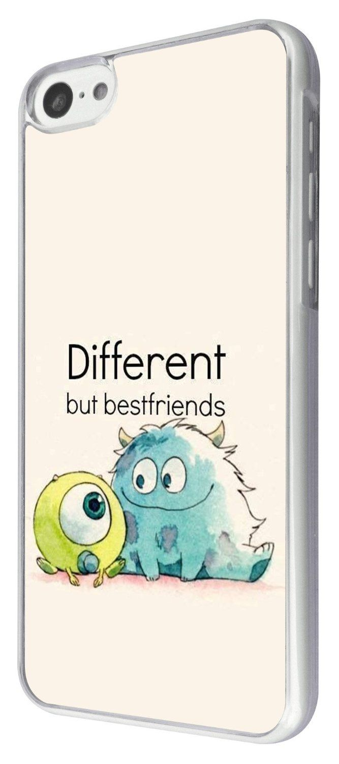 iphone 5C Cool Fun Monsters Different But Best Friends 177 Design Fashion Trend Cover Coque arriere Coque Case: Amazon.fr: High-tech