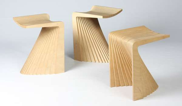 Fanned Out Plywood Perches