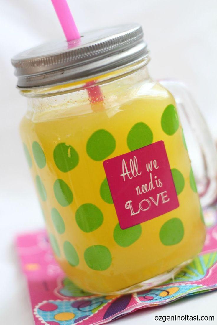 1 portakal 1 limon 10 bardak limonata, limonata, kolay limonata, rendelemeden limonata