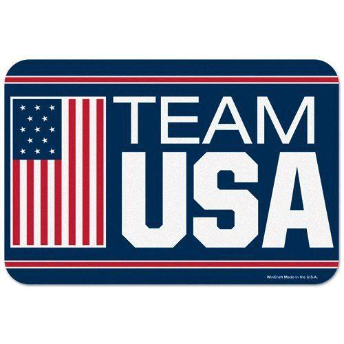 "Olympics 2012 USOC Team USA Logo Mats - 20"" x 30"""