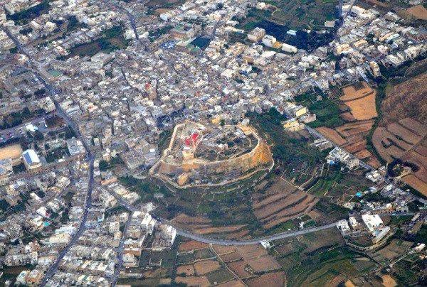 Отдых на Мальте — Цитадель на о. Гоцо, в городе Виктория