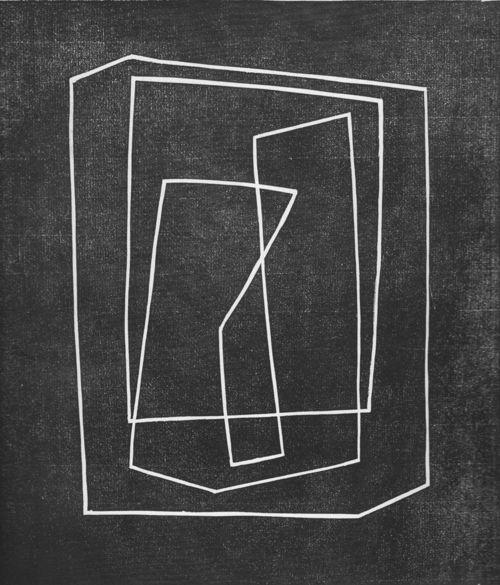 Josef Albers:Show Case, 1935  Linoleum Cut