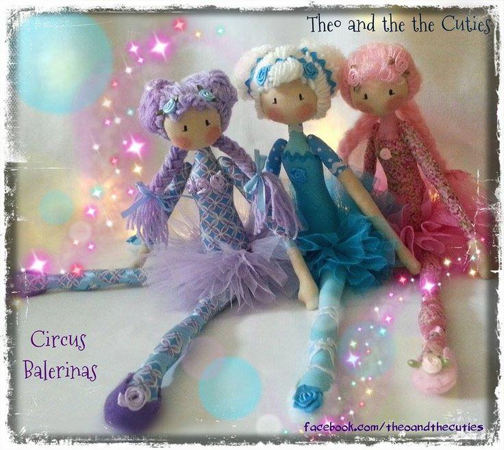 Theo and the Cuties -  Circus Balerinas - Bubblegum, Popcorn, Fruity facebook.com/theoandthecuties