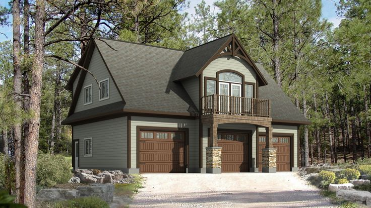 Best 25 garage apartments ideas on pinterest garage for Garage plans ontario
