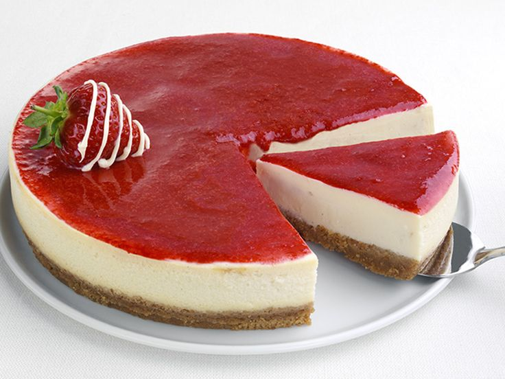 Çilekli cheesecake - Strawberry chessecake