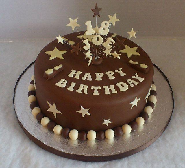 18th Birthday Cake In 2019 Food Birthday Cake 18th