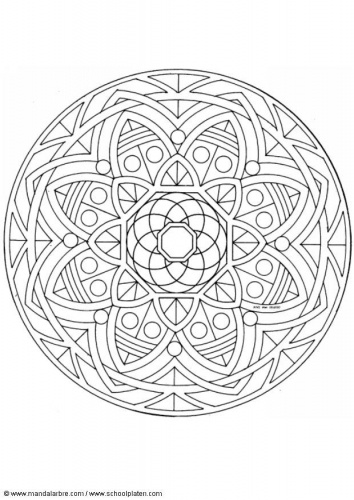 Geometric Art Coloring Book : 183 best mandalas images on pinterest