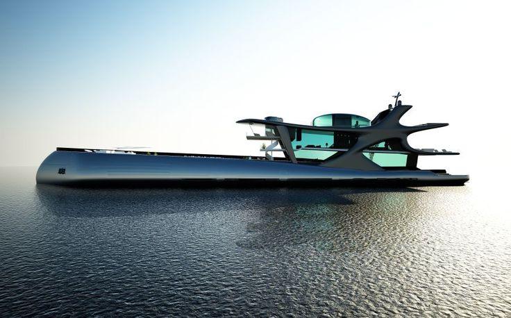 Si Apple faisait des yachts, ils ressembleraient à celui-ci