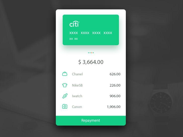 Hey,guys!   Wallet app, hope u like it!!!