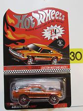 HOT WHEELS RED LINE CLUB 2004 ELECTION SERIES CUSTOM MUSTANG MACH 1