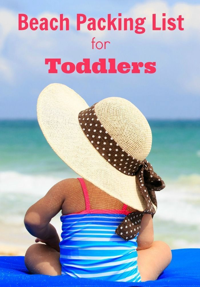 Heading to the beach with your toddler or preschooler? Use this handy packing list to make sure you don't forget any of the essentials for your trip! Such a helpful travel guide! #summer #beach