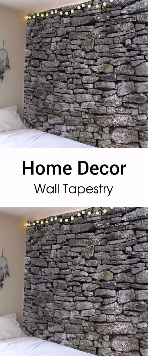 Vintage Stone Print Waterproof Wall Tapestry