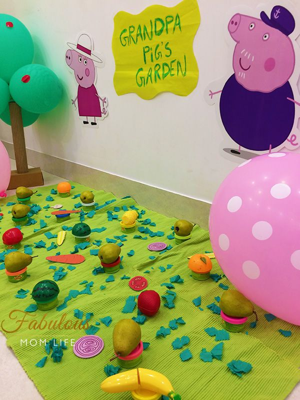 Peppa Pig Birthday Party Games And Activities Fabulous Mom Life Peppa Pig Birthday Party Decorations Peppa Pig Birthday Peppa Pig Party Games