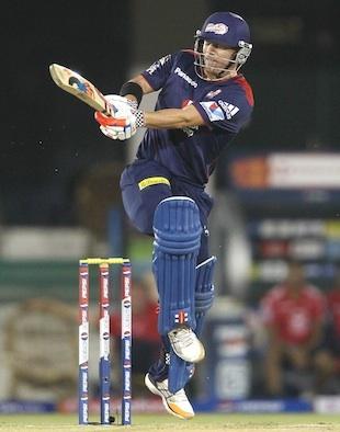 David Warners half-century helped Delhi Daredevils beat Pune Warriors in the first IPL match in Raipur