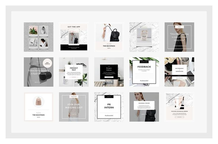 Lifestyle Social Media Pack by Studio Standard on @creativemarket