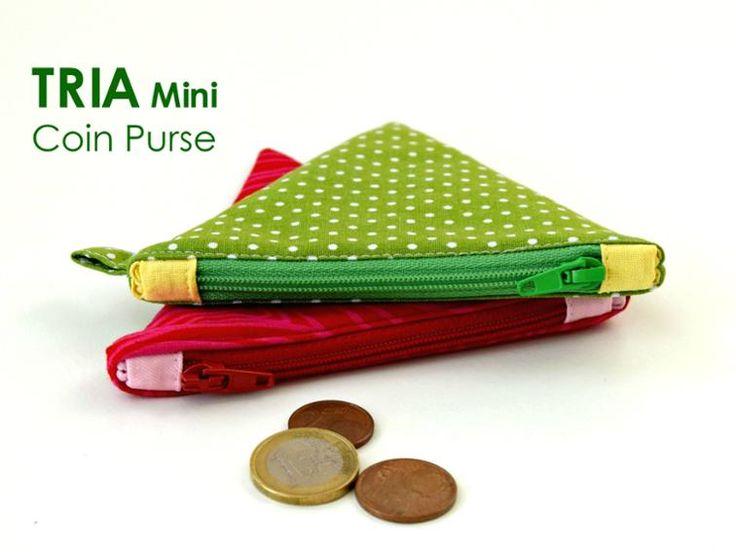 TRIA Coin Purse - SALE | Craftsy