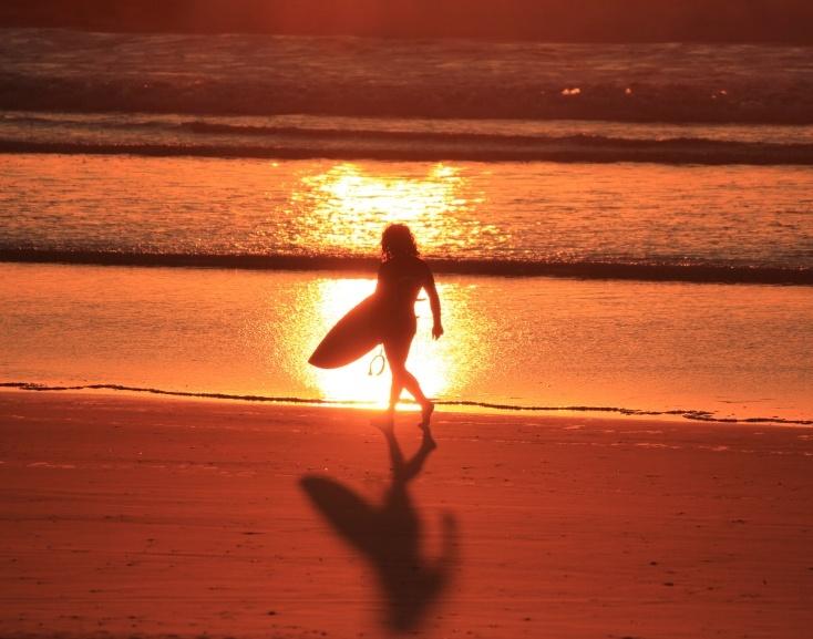 Byron Bay beach sunset :)