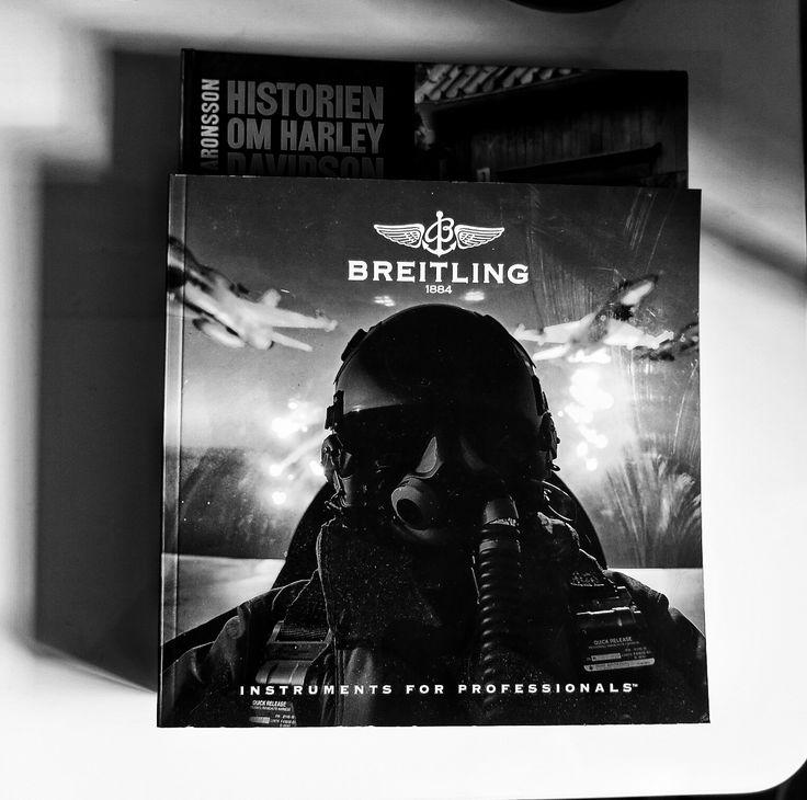 Breitling book. Instagram:Felicia.Hogberg 📷Canon powershot G9x
