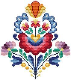 Summer wycinanki flowers - cross stitch pattern. Floss: DMC Canvas: Aida 14 White Design Area: 93x105 stitches or 6,6 x 7,5 inch or 16,9 x 19,1 sm Number of colors: 17 This PDF pattern Included: - the key to the deciphering of colors DMC and symbols, the number of strands, number of strands DMC, - color block with simbol + color backstitch ONLY PATTERN! PDF file will be available for instant download after payment is confirmed. Please, if you have any questions, send me a message. How to…