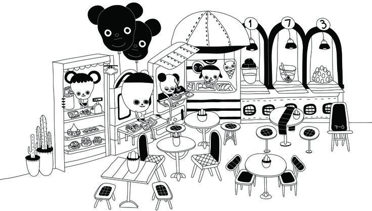 illust,illustration,일러스트cafe,bread