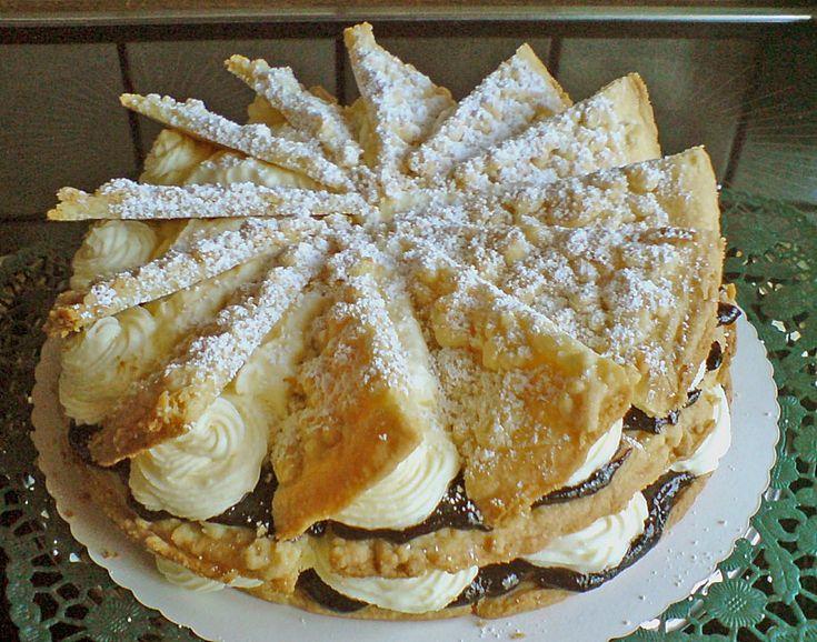 Friesentorte mit Pflaumenmus (Rezept mit Bild) von holsteintrine | Chefkoch.de