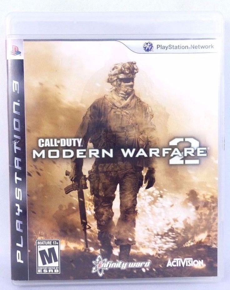 PS3 Call of Duty: Modern Warfare 2 Complete 2002 Shooter Playstation Game
