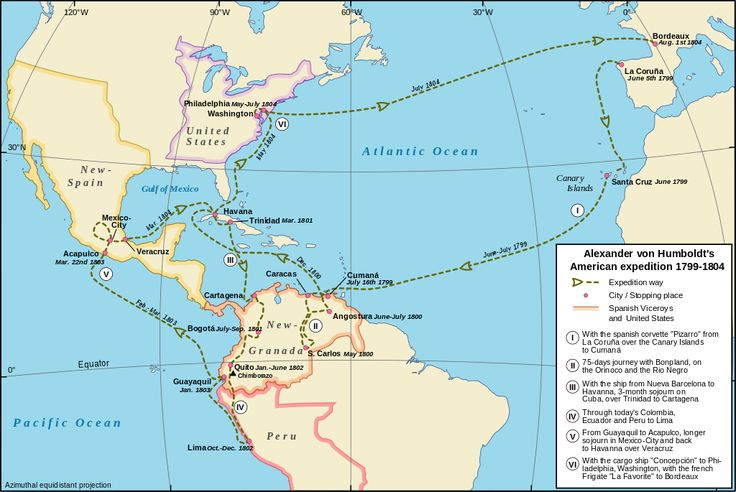 Alexander von Humboldt's Latin American expedition - (In relation to the Neoclassical Prussian Geographer, Naturalist and Explorer Alexander Von Humboldt)