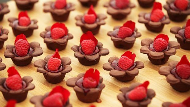 Chokoladekage med saltkaramel