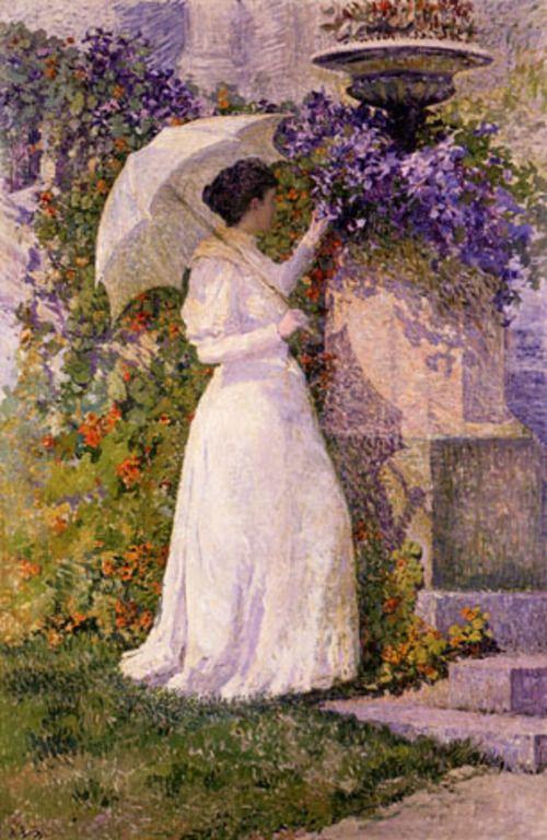 En Juin, 1894, by Anna Rosalie Boch (Belgian, 1848–1936).