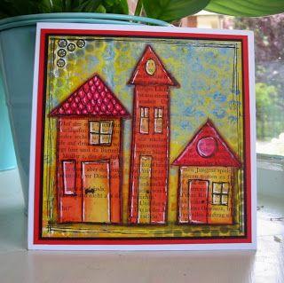 Ellen's kaartjes: Kleine huisjes/ Little houses