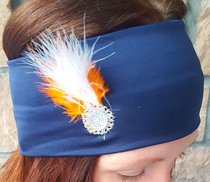 Womens Headband NFL Denver Broncos Super Bowl 50 Champions Team Colors Hair Accessory Head Wrap by TheCozyBear on Etsy https://www.etsy.com/listing/464346090/womens-headband-nfl-denver-broncos-super