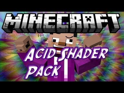 Acid Shaders Mod for Minecraft 1.8/1.7.10 -  The Acid Shaders mod is one among many different mods based off the GLSL Shaders Pack mod. However, while other types of based off GLSL Shaders Pack mods aim to give Minecraft a distinct look, this one mainly focuses on making a kind of psychedelic effect.  #Minecraft18Mods, #Minecraft181Mods, #MinecraftMods1710 -  #MinecraftMods