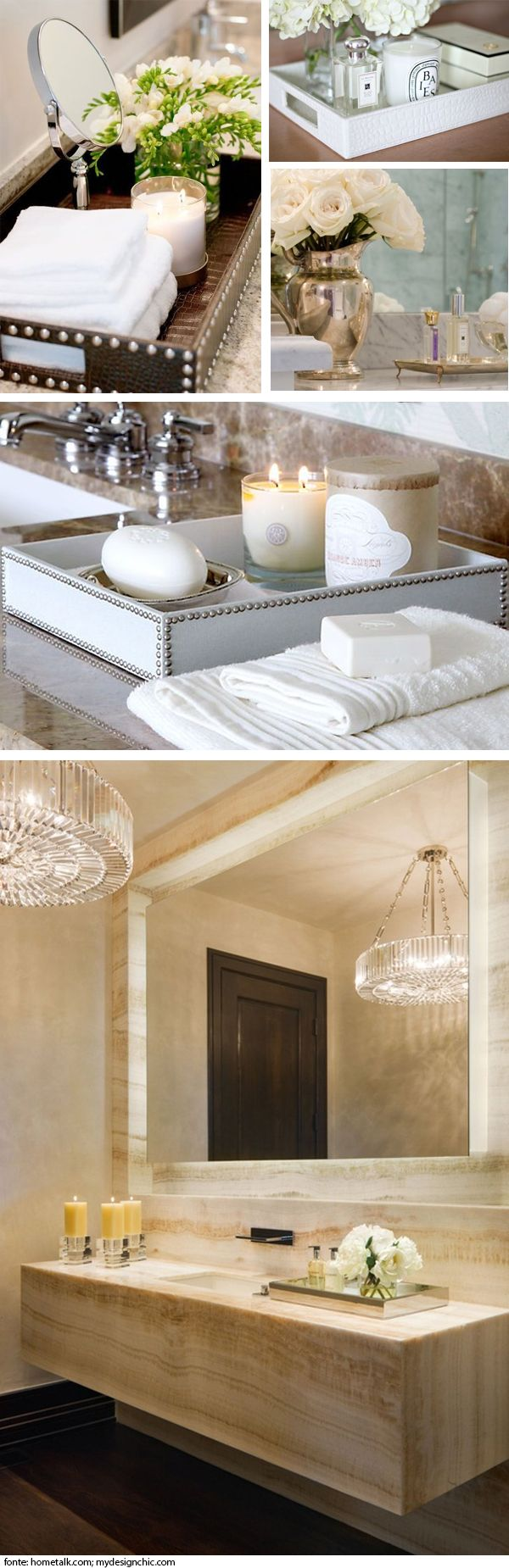 how Add a sophisticated touch to your bathroom | how to make your bathroom more luxurious