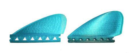 Full set of four Bonzer fins, 19 degree cant, 2 large, 2 small – RoyStuart.biz