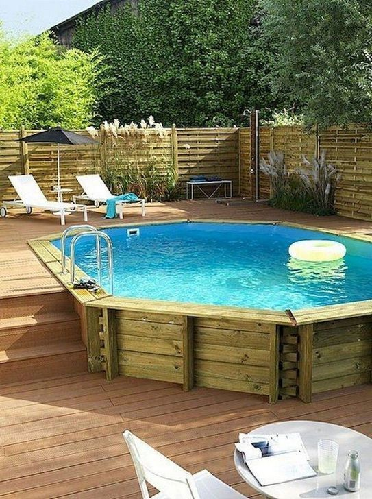 99 Comfortable Yard Designs Concepts With Swimming Pool Seems Cool