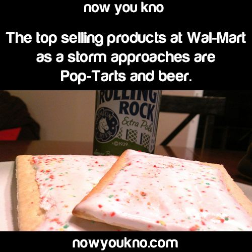 pop tarts and beer really? What an odd combo.