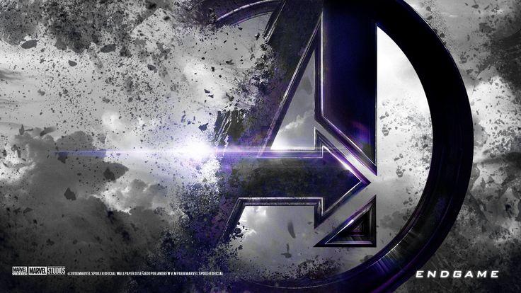 Avengers Endgame 19201080 Custom Colour Accent Black Purple Hdwallpaper Wallpaper Image Avengers Wallpaper Marvel Wallpaper Logo Wallpaper Hd