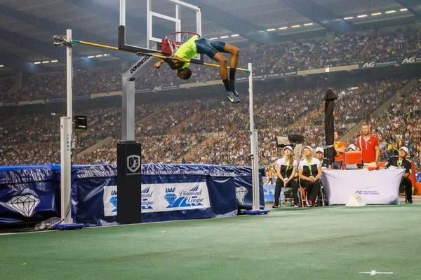 What is the high jump world record?