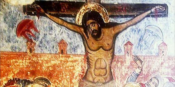 Ovnis crucifixión de Jesús