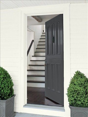 Best 25 exterior paint color combinations ideas on - Benjamin moore exterior color combinations ...