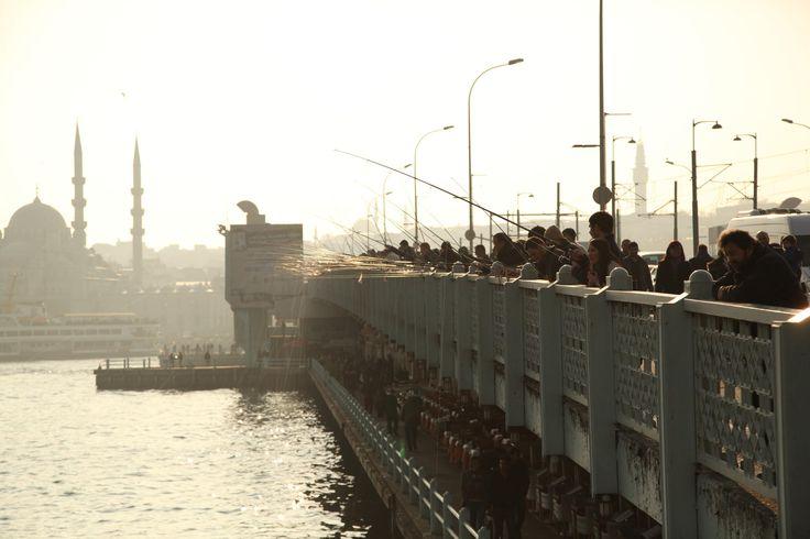 Galata Bridge by Guliz on 500px