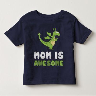 """Áo thun tay ngắn trẻ em kidstyle màu xanh đen in chữ """"Mom is Awesome"""" // Chất liệu thun cotton 100% cao cấp, màu rất đẹp // Đủ size từ 1 - 12 tuổi cho bé lựa chọn // Xem chi tiết GIÁ SỐC tại website kidstyle.com.vn ** Công ty thời trang trẻ em KidStyle ** Địa chỉ: 206/40 Đồng Đen, Phường 14, Quận Tân Bình, Tp. Hồ Chí Minh ** SĐT: 0909 145 138"""
