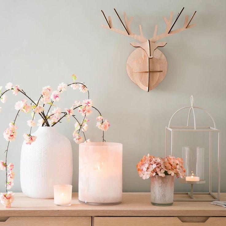 Zartes Rosa Und Pastellige Farben Lassen Den Frühling Einziehen. #homedecor  #home #springiscoming