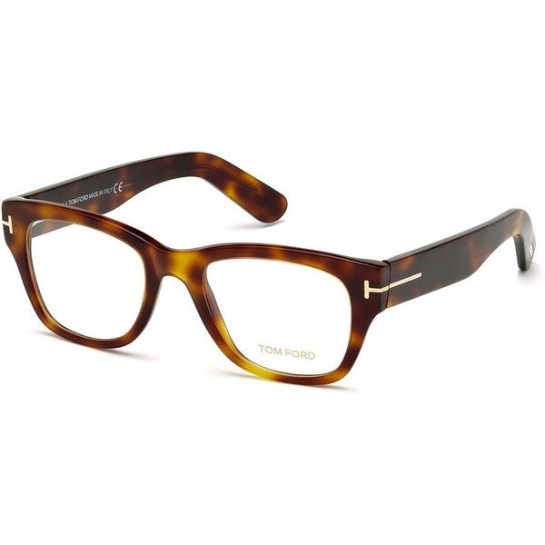 c5cbd8321e TOM FORD Square Optical Frames ( 455) ❤ liked on Polyvore featuring  accessories