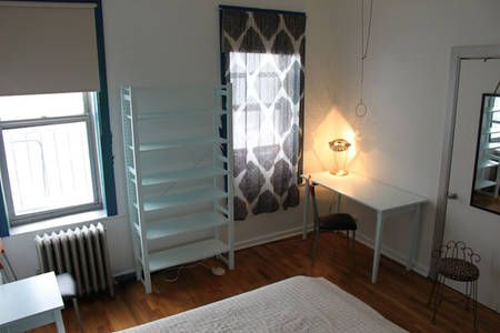 Check out this awesome listing on Airbnb:  Large Sunny Private W'burg Room in Brooklyn