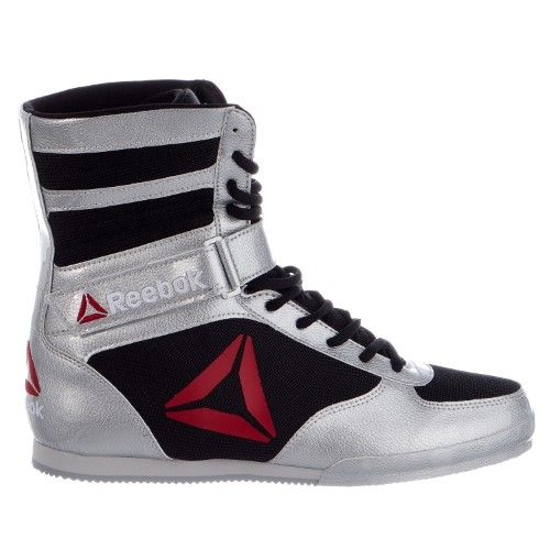 Reebok Boxing Boot - Buck Shoes - Silver - Mens - 12, Men's