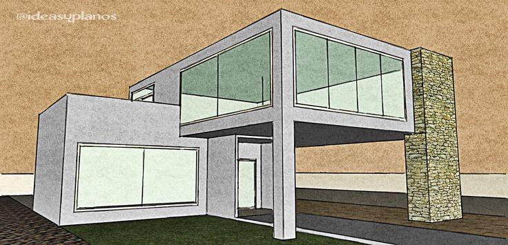 Mejores 12 im genes de google sketchup houses en pinterest for Arquitectura casas pequenas