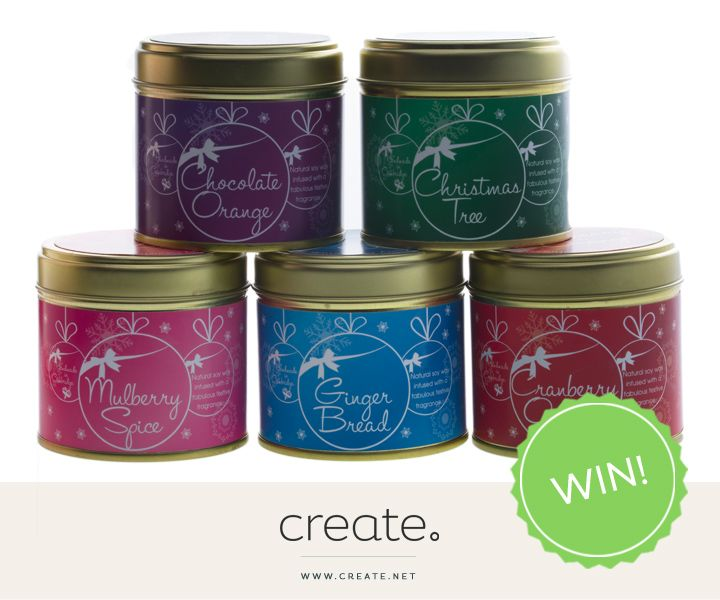 This week's #festive #FreebieFriday is for two amazing Christmas candles from Kiss-Air Candles, as featured in our #CreatePicks: Gifts for Her: http://bit.ly/1MTXNy9  To enter, simply click the image and comment on the Facebook post to be in with a chance to #WIN the Mulberry Spice and Gingerbread scents!  Sign up here - http://eepurl.com/cZ7cg and be the first to know about new Freebie Fridays and all exciting Create competitions! #comps #free #WIN